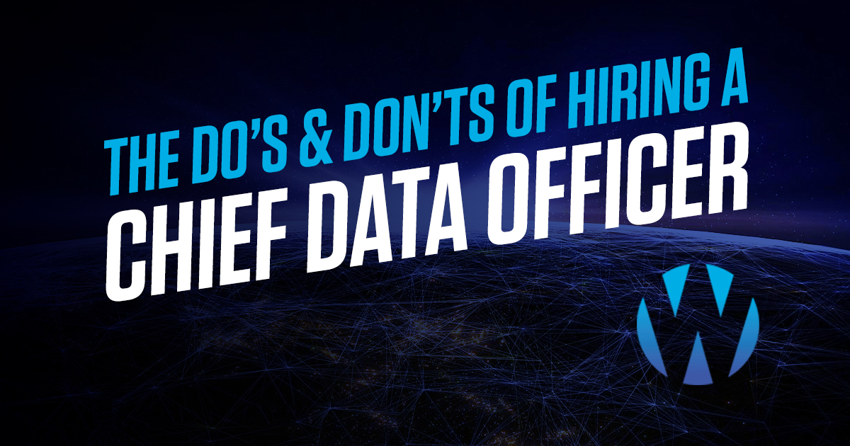 Chief Data Officer - header