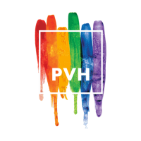 PVH Logo owner of Tommy Hilfiger and Calvin Klein Brands